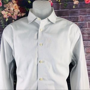 Calvin Klein Men's Shirt Long Sleeve Size 16 1/2